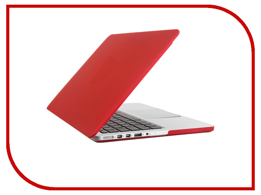 Аксессуар Чехол-кейс 13.3-inch Activ MATTE для APPLE MacBook Pro 13 Red 55737