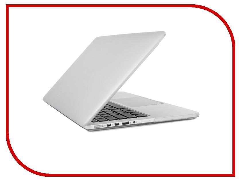 Аксессуар Чехол-кейс 13.3-inch Activ GLASS для APPLE MacBook Pro 13 Retina White 56958