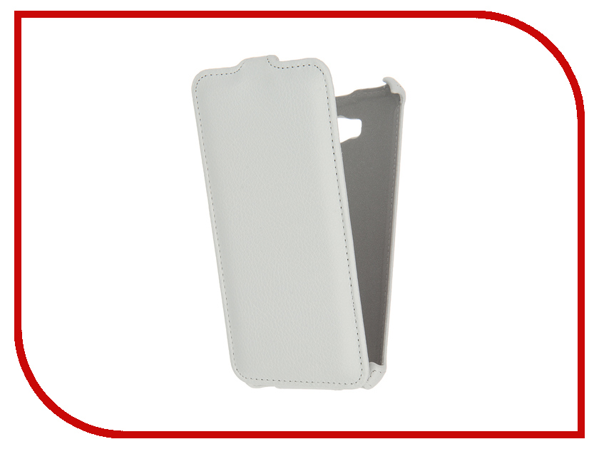 Аксессуар Чехол ASUS ZenFone Max ZC550KL Gecko White GG-F-ASZC550KL-WH<br>