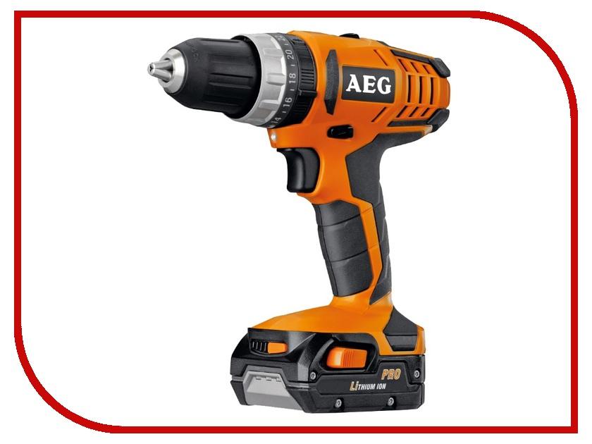Электроинструмент AEG BSB 14G2 Li-152C 431990