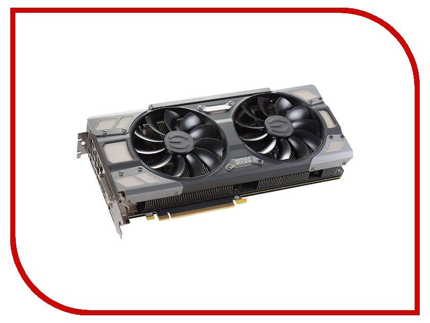 Видеокарта EVGA GeForce GTX 1070 1607Mhz PCI-E 3.0 8192Mb 8008Mhz 256 bit DVI HDMI HDCP 08G-P4-6276-KR<br>