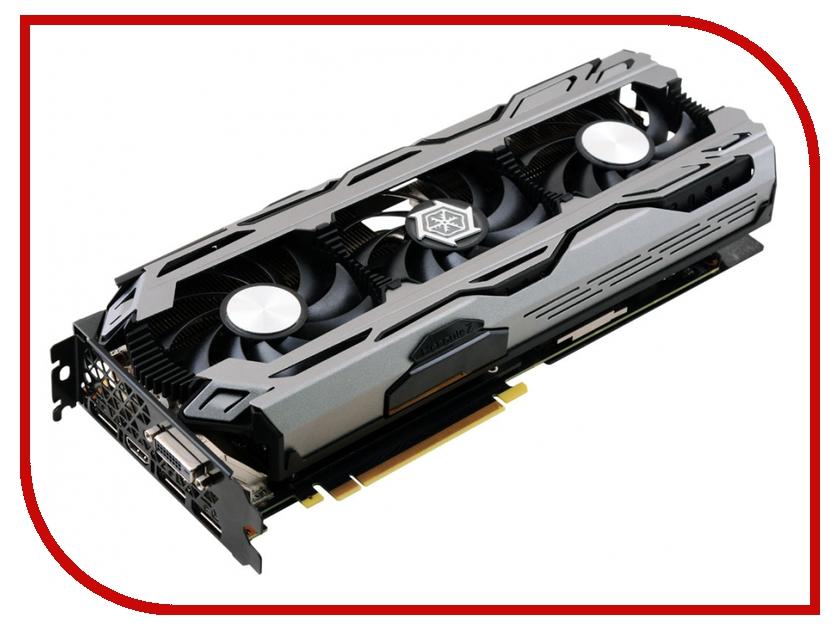 Видеокарта Inno3D GeForce GTX 1070 1620Mhz PCI-E 3.0 8192Mb 8200Mhz 256 bit DVI HDMI HDCP X3 C107V3-1SDN-P5DNX<br>