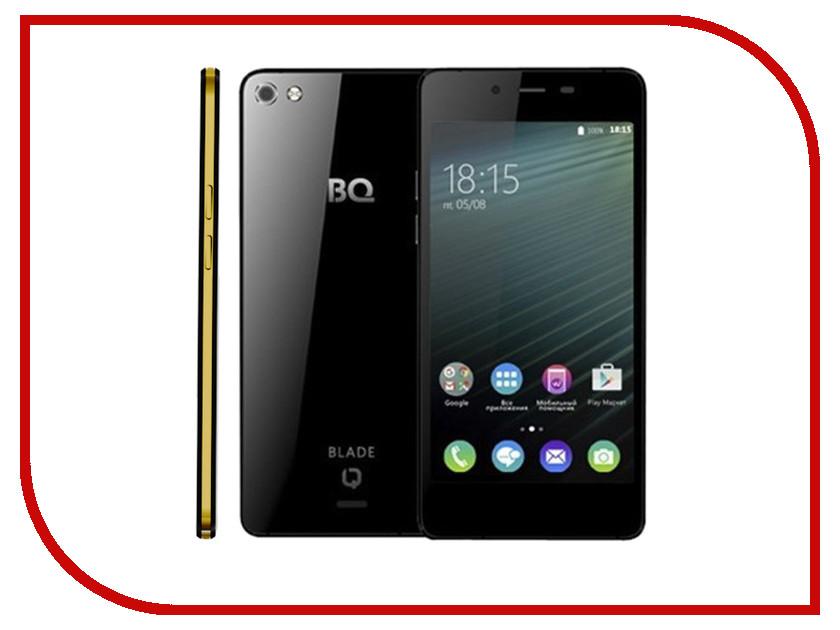 Сотовый телефон BQ 4800 Blade Black-Gold<br>