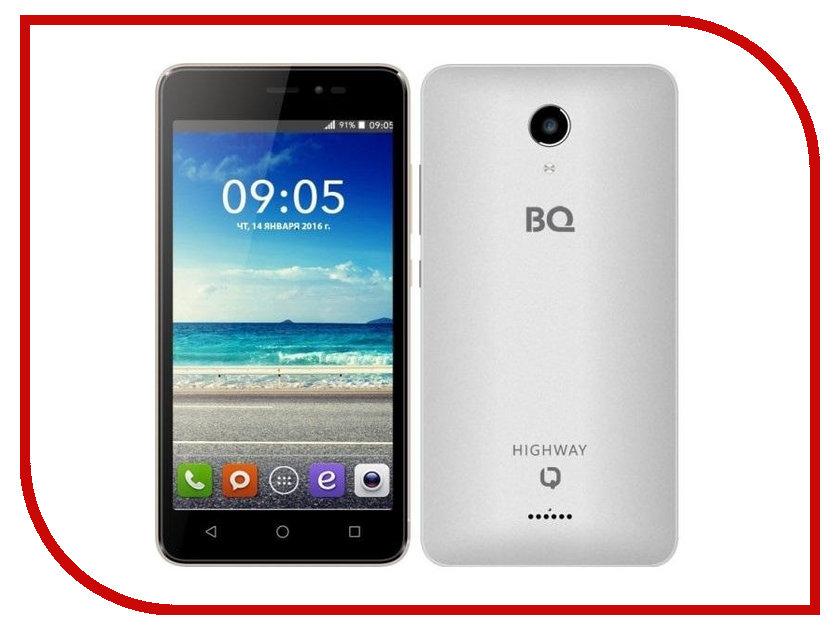 Сотовый телефон BQ BQS-5025 HighWay Silver<br>