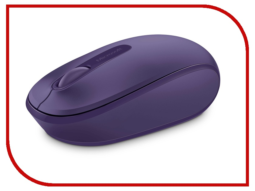 Мышь Microsoft Wireless Mobile Mouse 1850 Purple USB U7Z-00044 microsoft sculpt mobile mouse black беспроводная мышь