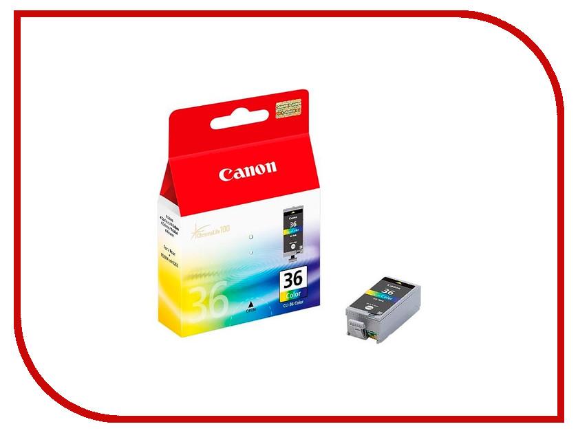Картридж Canon CLI-36 Color для Pixma mini260 1511B001 картридж для принтера colouring cg cli 426c cyan