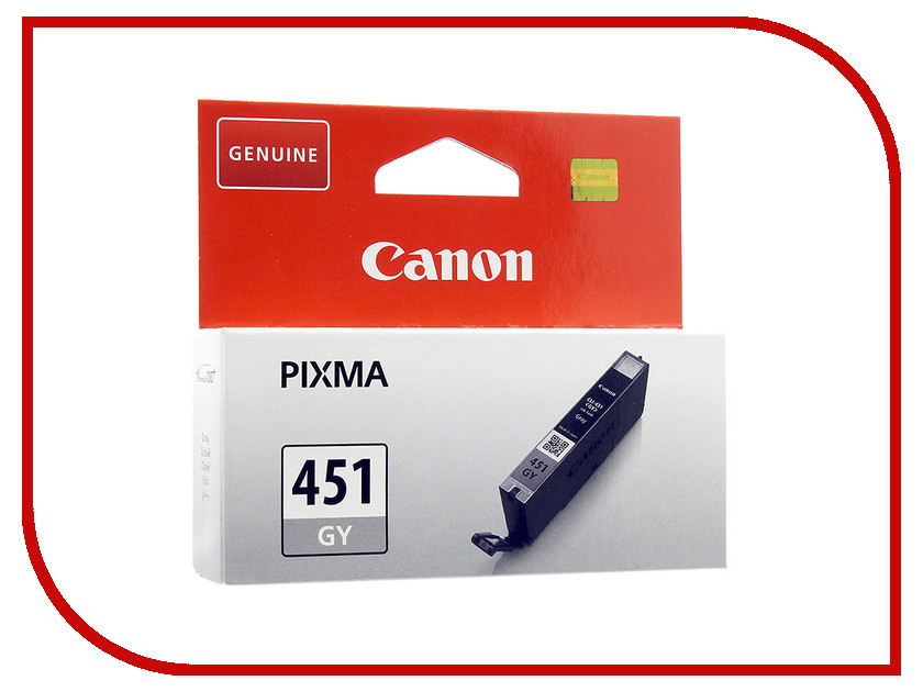 Картридж Canon CLI-451GY Grey 6527B001 картридж для принтера colouring cg cli 426c cyan