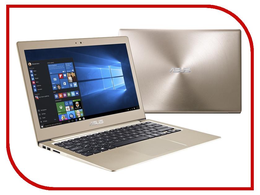 Ноутбук ASUS UX303UA Icicle Gold 90NB08V5-M07050 Intel Core i3-6100U 2.3 GHz/4096Mb/500Gb/No ODD/Intel HD Graphics/Wi-Fi/Bluetooth/Cam/13.3/1920x1080/Windows 10 64-bit<br>