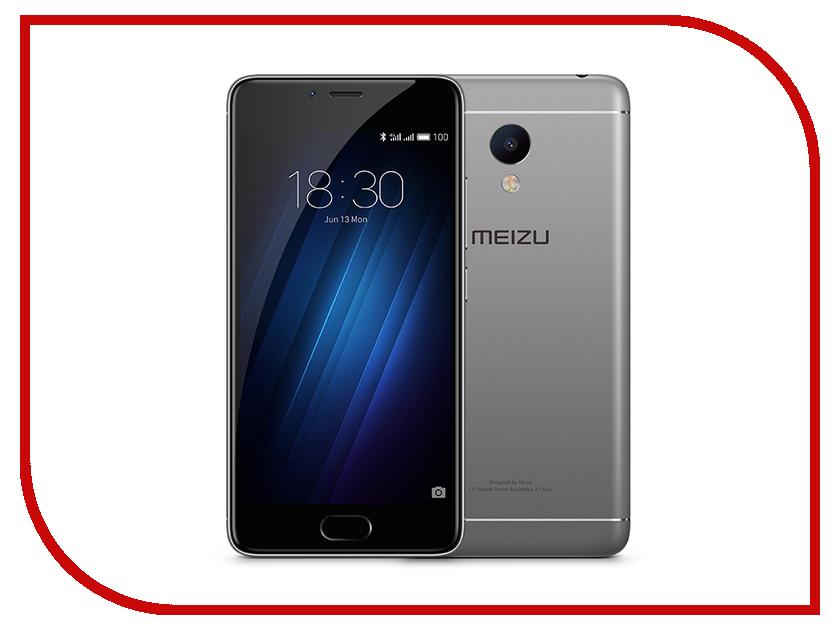 Сотовый телефон Meizu M3s Mini 16Gb Grey-Black<br>