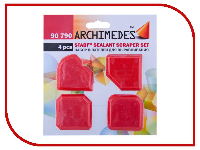 Инструмент Набор шпателей Archimedes Stabi 90790 маска для сварки archimedes stabi