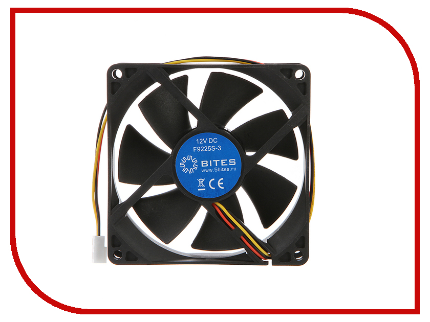 Вентилятор 5bites F9225S-3 92x92x25mm цена