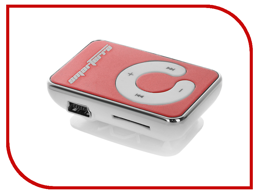 Плеер Smarterra P35 Red