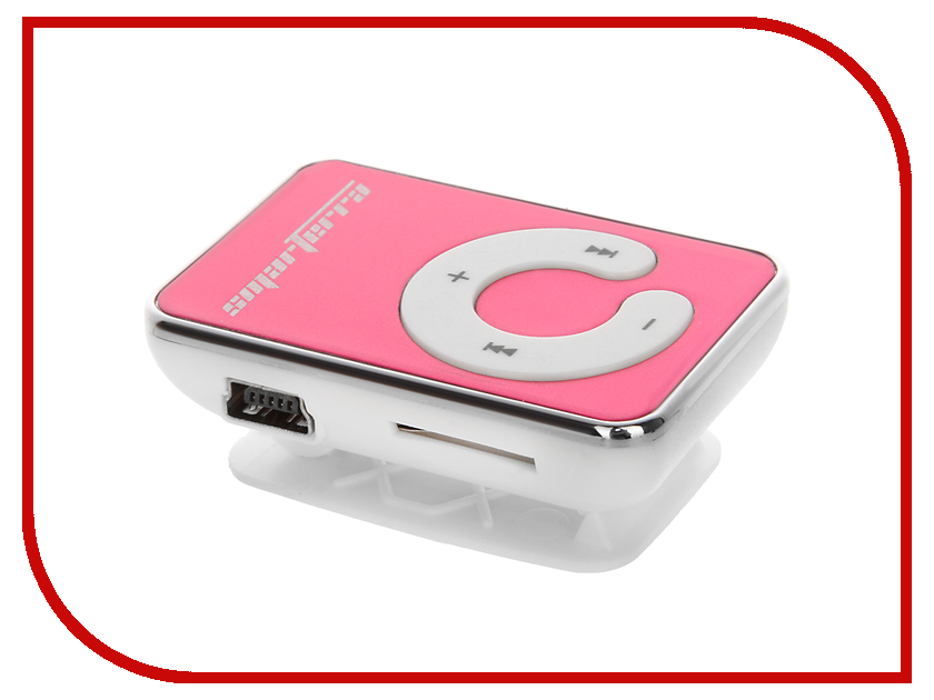 Плеер Smarterra P35 Pink