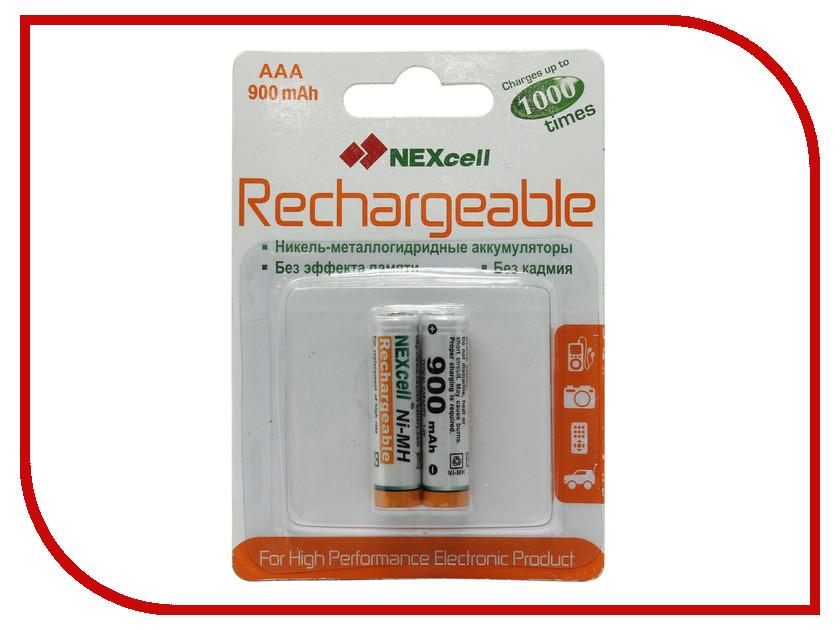 Аккумулятор AAA - NEXcell 900 mAh Ni-MH AAA900mAh (2 штуки)<br>