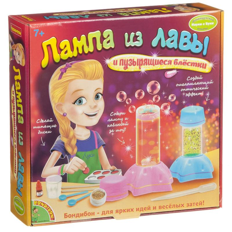 Игра Bondibon Науки с Буки Лампа из лавы BB1654 WS/99L