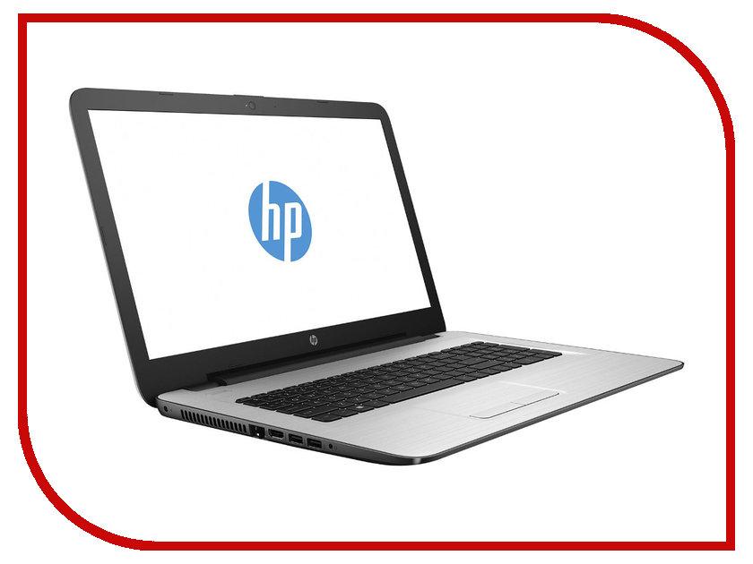 Ноутбук HP 17-y020ur X7G77EA AMD E2-7110 1.8 GHz/4096Mb/128Gb SSD/DVD-RW/AMD Radeon R2/Wi-Fi/Bluetooth/Cam/17.3/1600x900/Windows 10 64-bit