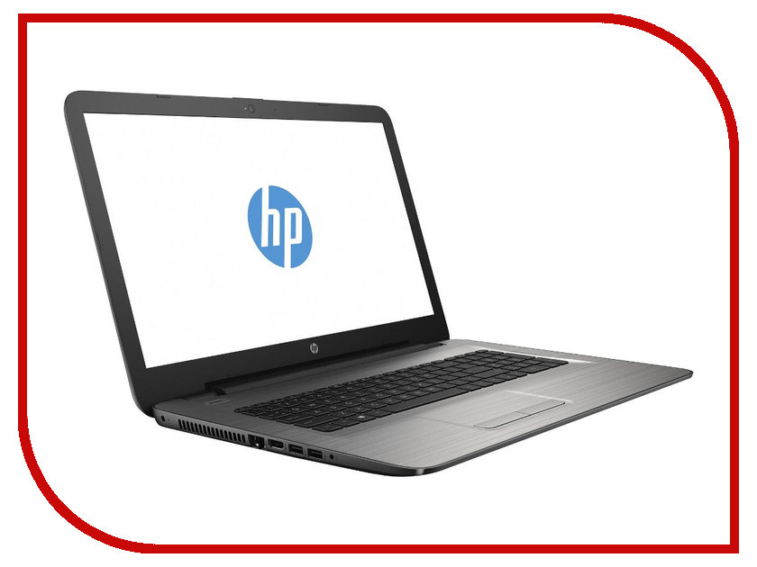 Ноутбук HP 17-y019ur X7G76EA AMD E2-7110 1.8 GHz/4096Mb/128Gb SSD/DVD-RW/AMD Radeon R2/Wi-Fi/Bluetooth/Cam/17.3/1600x900/Windows 10 64-bit<br>