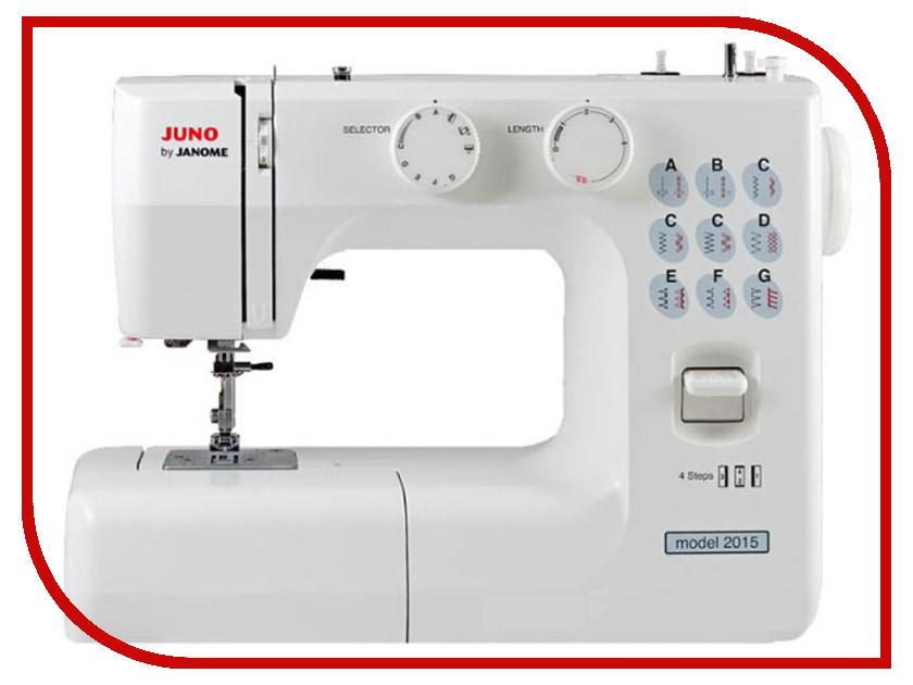 Швейная машинка Janome Juno 2015 швейная машинка janome juno 507