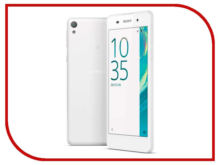где купить Сотовый телефон Sony F3311 Xperia E5 White дешево