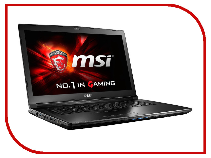 Ноутбук MSI GL72 6QD-210RU 9S7-179675-210 Intel Core i5-6300HQ 2.3 GHz/8192Mb/1000Gb/DVD-RW/nVidia GeForce GTX 950M 2048Mb/Wi-Fi/Bluetooth/Cam/17.3/1600x900/Windows 10 64-bit