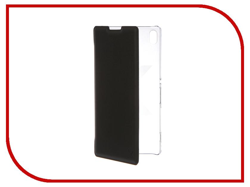 Аксессуар Чехол Sony Xperia XA Ultra Muvit MFX Folio Case Black SEEAF0046<br>