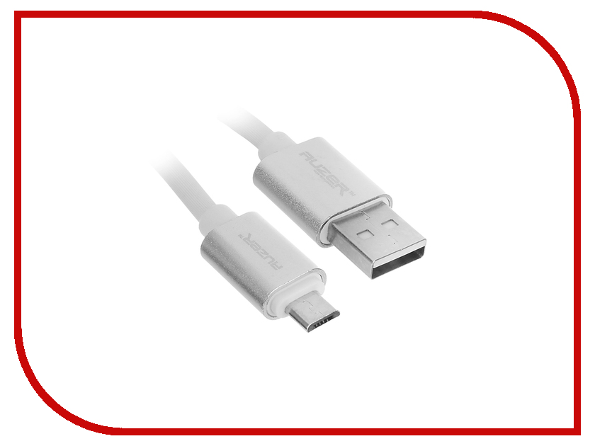 Аксессуар AUZER USB to micro USB Android 3A White AC-MHWT<br>