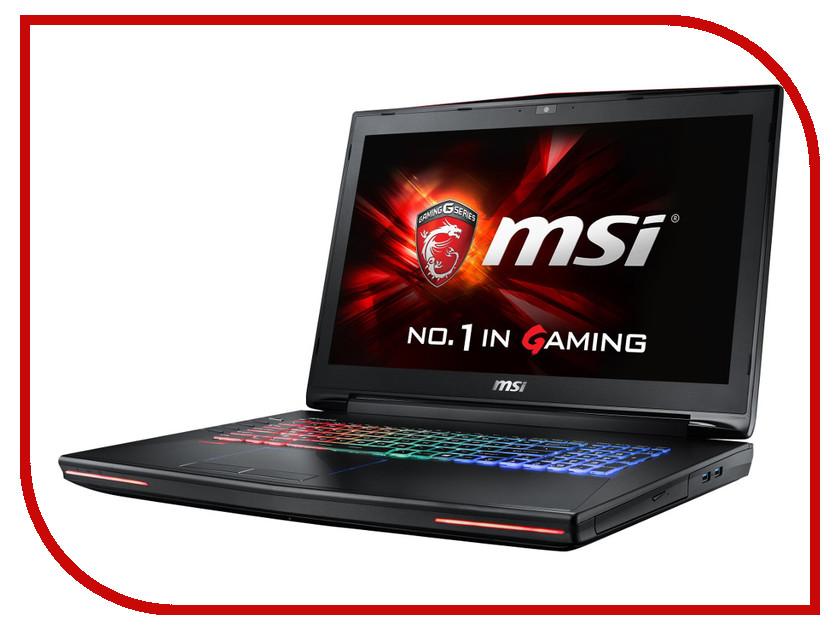 Ноутбук MSI GT72S 6QE-1039XRU 9S7-178211-1039 Intel Core i7-6700HQ 2.6 GHz/16384Mb/1000Gb/DVD-RW/nVidia GeForce GTX 980M 4096Mb/Wi-Fi/Bluetooth/Cam/17.3/1920x1080/DOS<br>