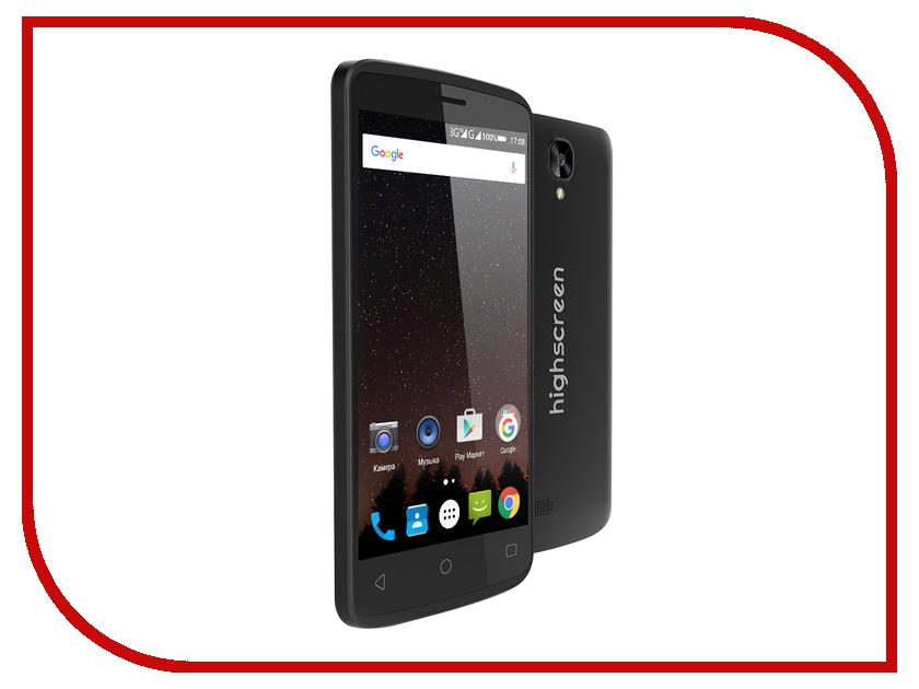 Сотовый телефон Highscreen Easy F Black