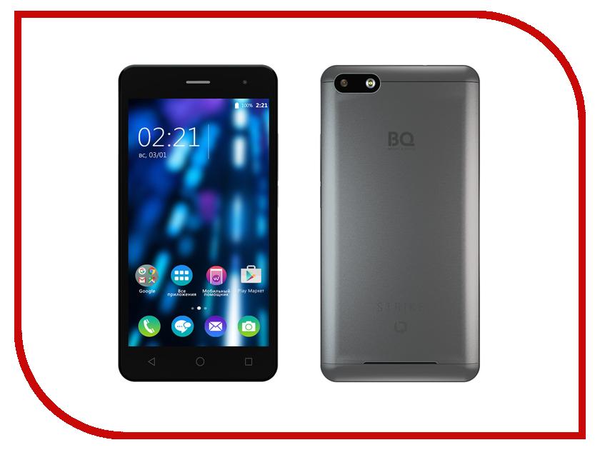 Сотовый телефон BQ BQS-5020 Strike Dark Grey<br>