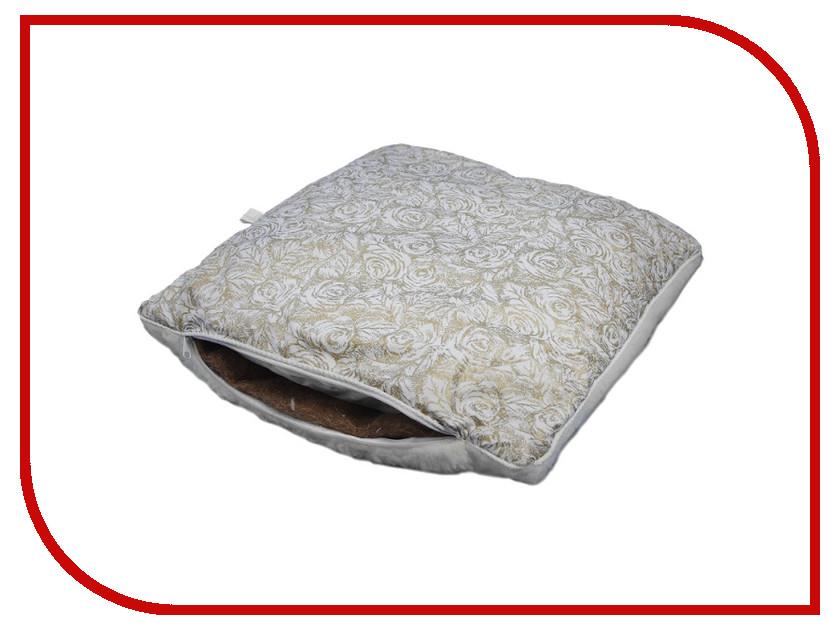 Ортопедическое изделие Smart Textile Лето-Зима Тик/Овечий мех 50x70cm White O677