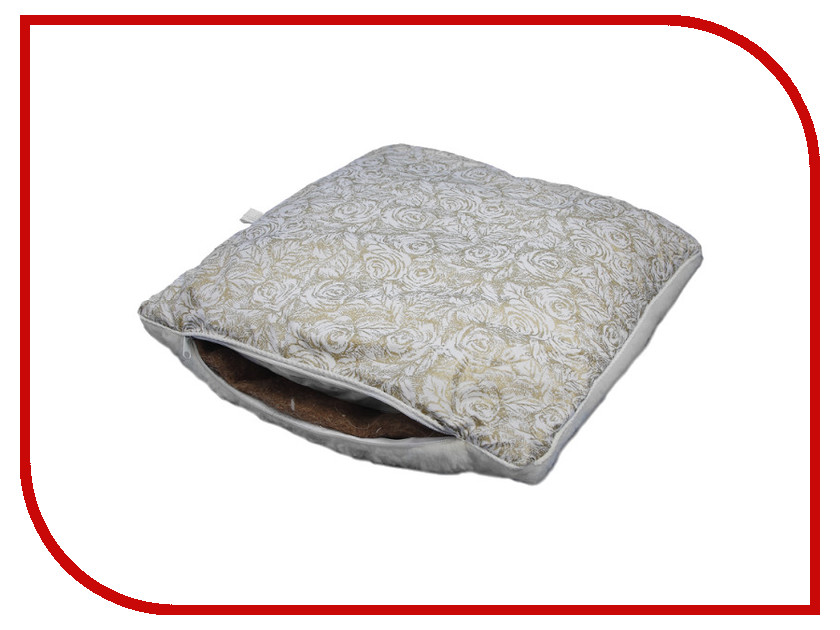 Ортопедическая подушка Smart Textile Лето-Зима Тик/Овечий мех 50x70cm White O677 подушки smart textile бьюти подушка тик сумка р 40 60 арт st441