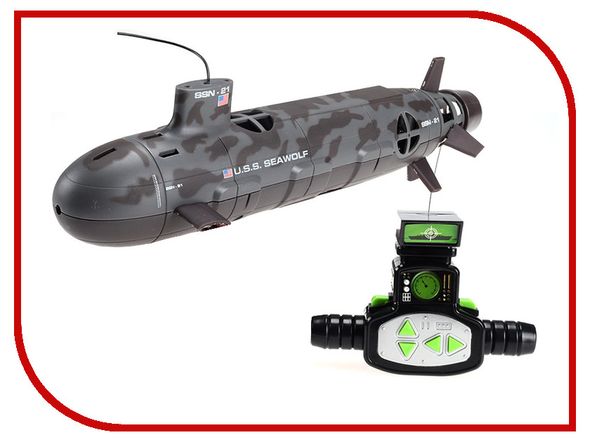 Радиоуправляемая игрушка Fun Maker U.S.S. Seawolf R19986