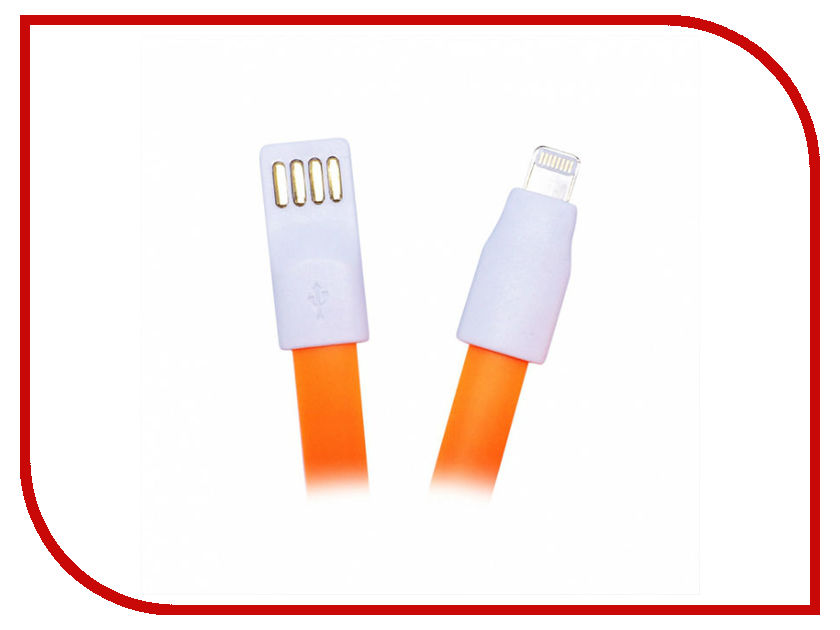 Аксессуар CBR Human Friends USB - Lightning Super Link Sprout Orange