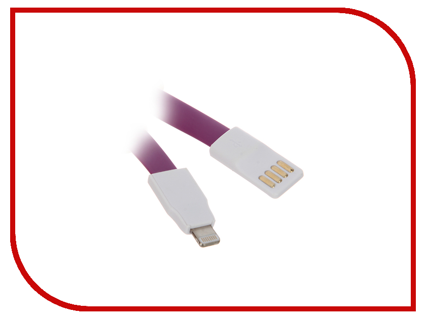 Аксессуар CBR Human Friends USB - Lightning Super Link Sprout Purple
