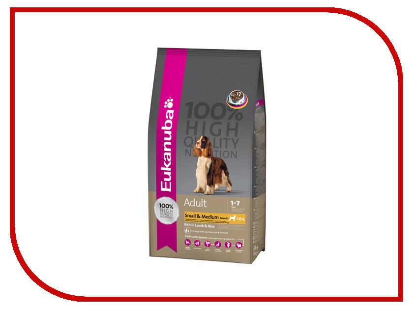 Корм Eukanuba Ягненок/Рис 2.5kg для собак 54048/5193 /81388010<br>