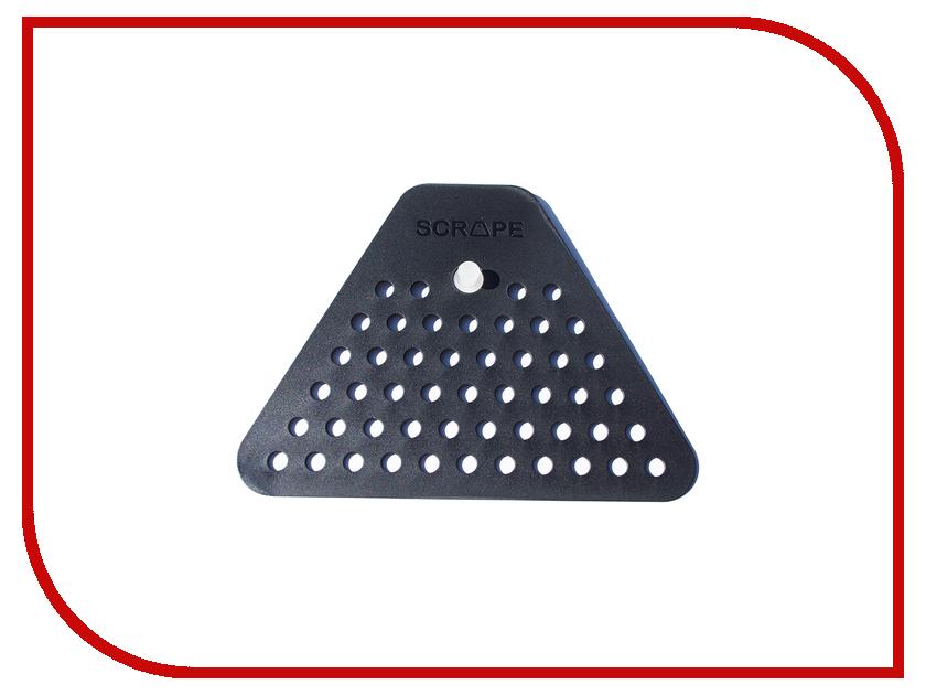 Кухонная принадлежность Fabrikators Скребок для раковины Black SC-BLA-DK<br>
