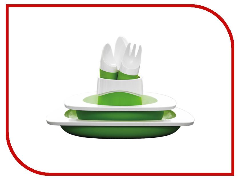 Кухонная принадлежность Fabrikators Набор столовый детский Green TD- 6 S ET- G<br>