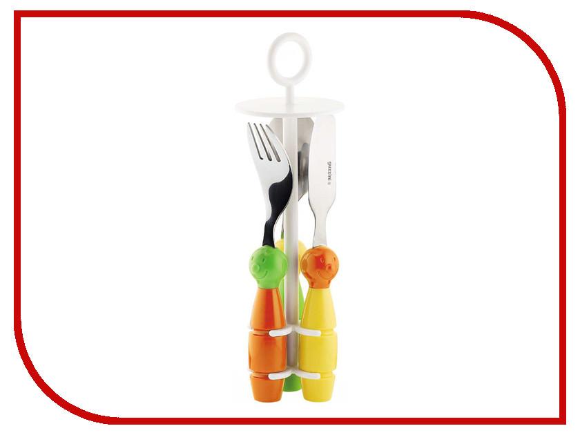 Кухонная принадлежность Guzzini набор столовых приборов Orange-Green 7500052<br>