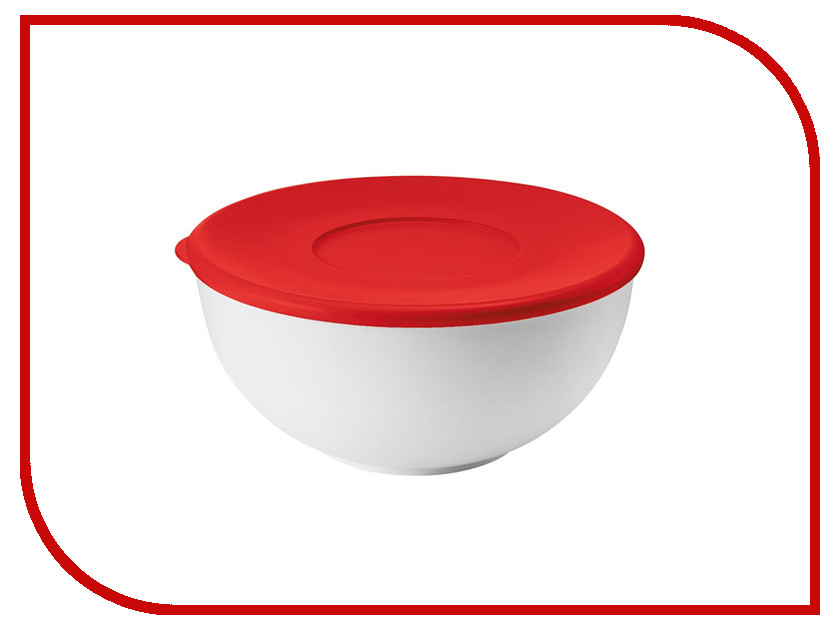 Кухонная принадлежность Guzzini контейнер с крышкой Red-White 29262855
