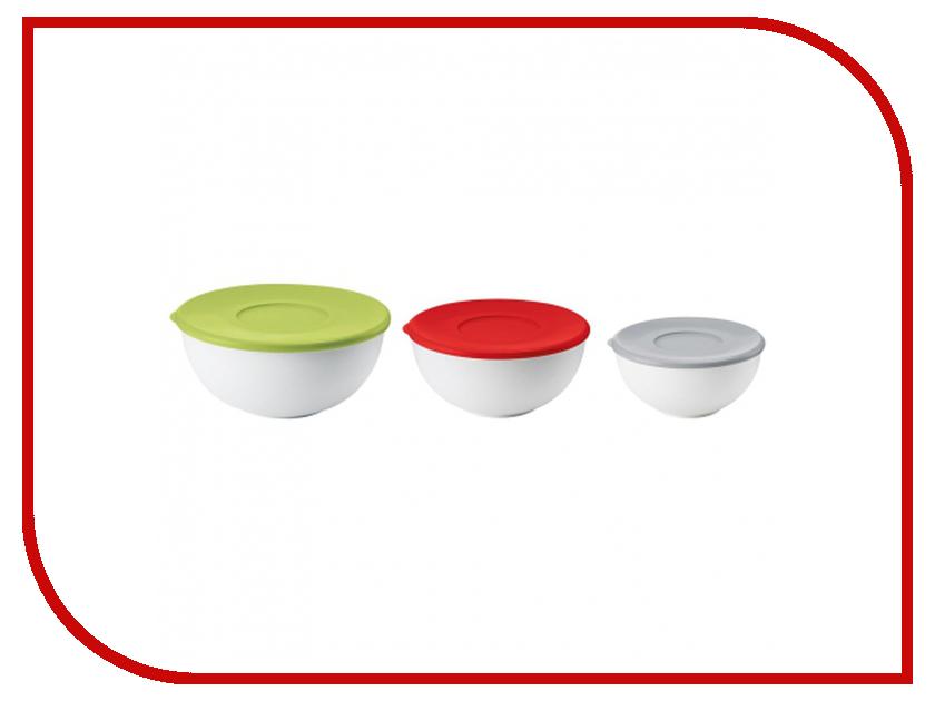 Кухонная принадлежность Guzzini набор салатниц с крышками 29260052