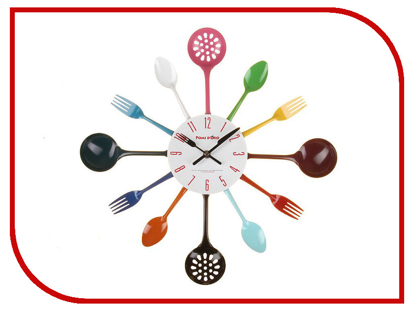 Часы Pomi Doro T4413-K настенные часы pomi doro t3711 k