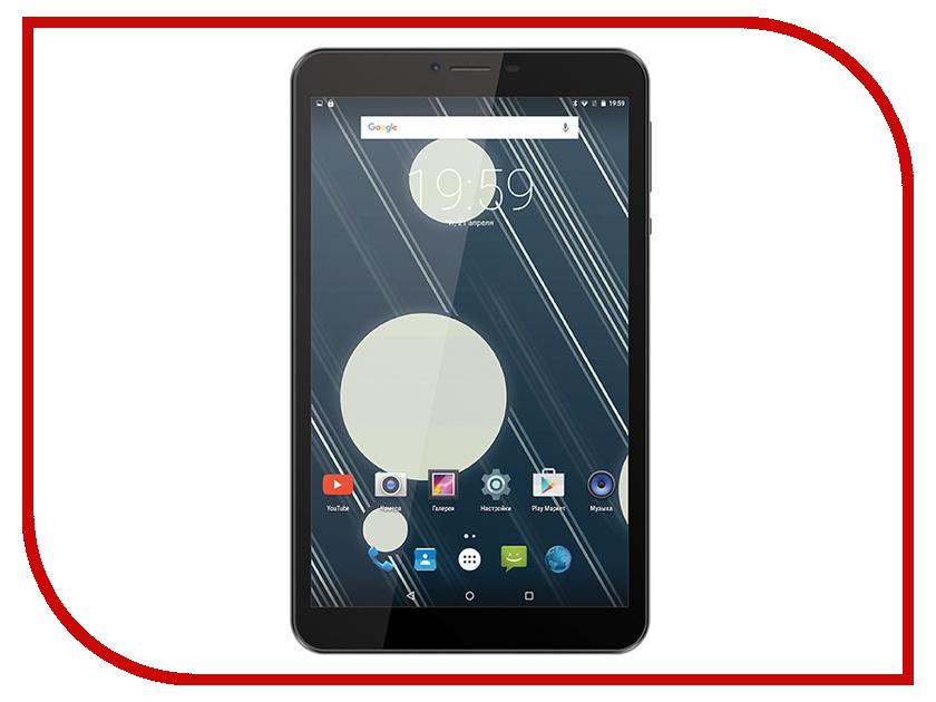 Планшет teXet TM-8043 Graphite MediaTek MT8735 1.3 GHz/1024Mb/8Gb/3G/Wi-Fi/Bluetooth/8.0/1280x800/Android<br>