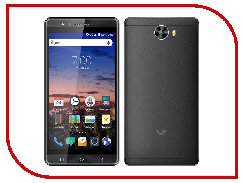Сотовый телефон Vertex Impress Open Graphite<br>