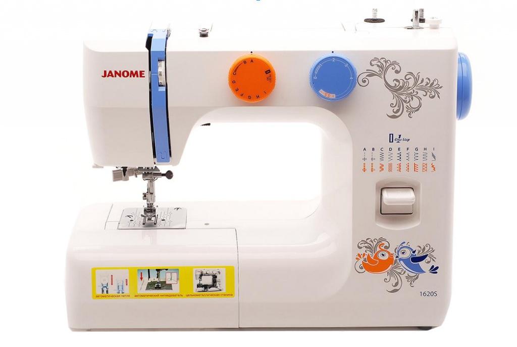 Швейная машинка Janome 1620S машинка швейная janome 2141