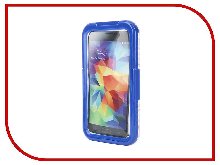 Аксессуар Чехол Celly универсальный водонепроницаемый 4.5-5.5 Blue WPCSAM02<br>