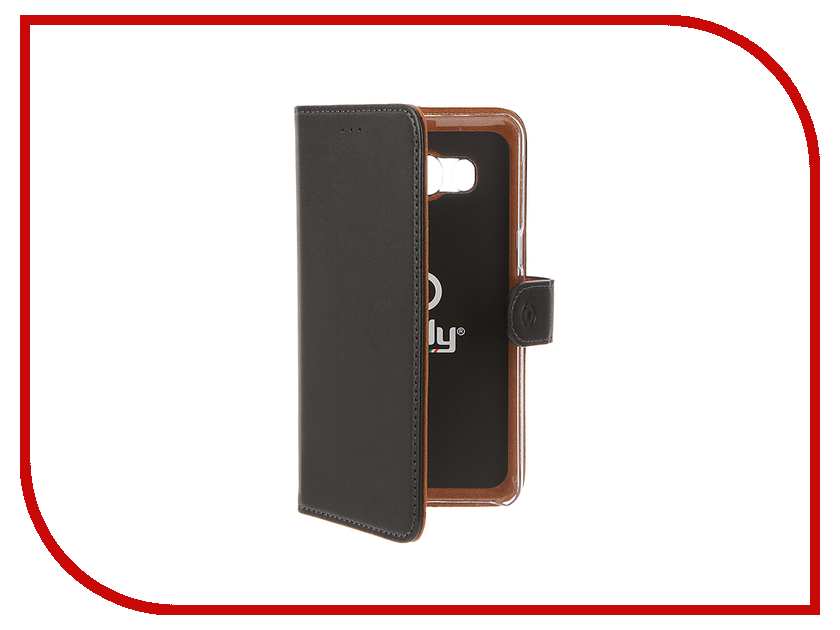 Аксессуар Чехол Samsung Galaxy J5 2016 Celly Wally Case Black WALLY557
