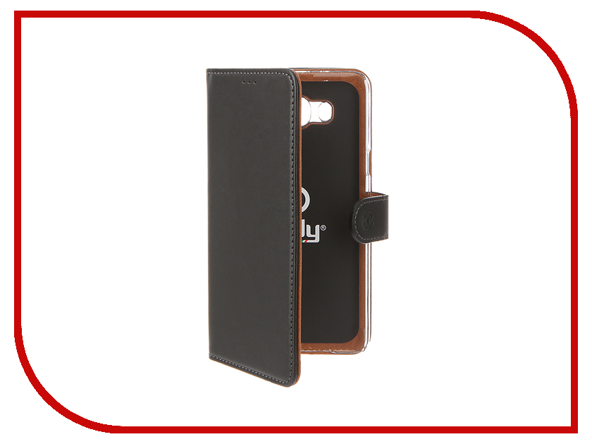 Аксессуар Чехол Samsung Galaxy J7 2016 Celly Wally Case Black WALLY556
