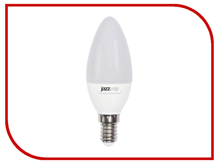 Лампочка Jazzway PLED-SP C37 9w 820Lm E14 230/50 (5000K)<br>