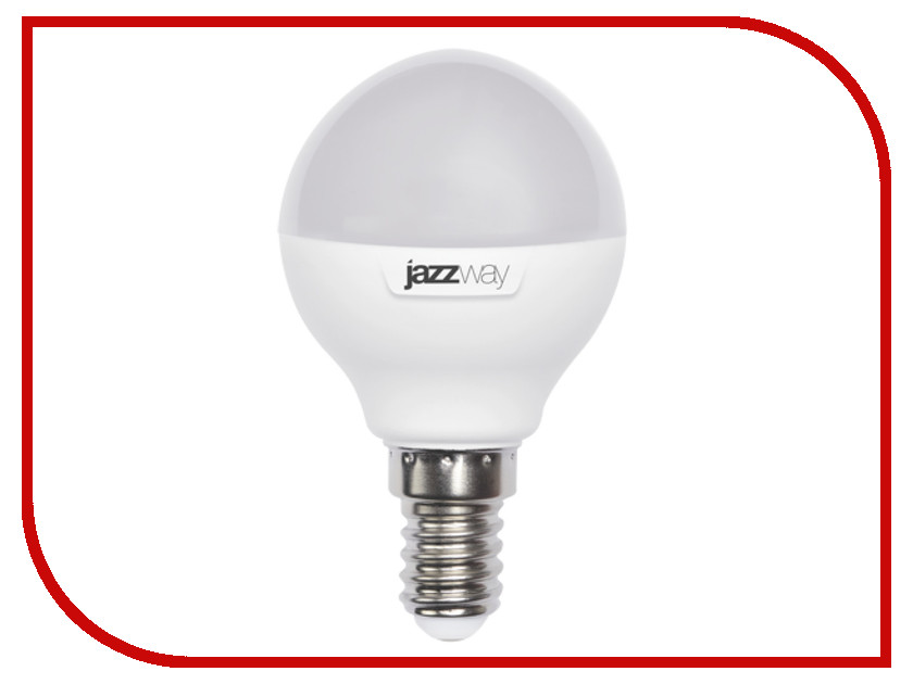 Лампочка Jazzway PLED-SP G45 9w 820Lm E14 230/50 (3000K)<br>