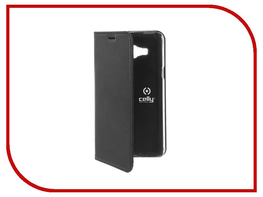 Аксессуар Чехол Samsung Galaxy J3 2016 Celly Air Case Black AIR555BK